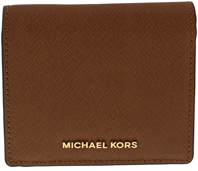 Cognac MICHAEL KORS Portemonnee CARRYALL CARD CASE - large