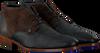 Zwarte REHAB Nette schoenen SALVADOR ZIG ZAG  - small