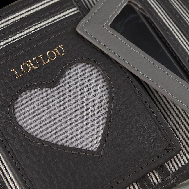 Zwarte LOULOU ESSENTIELS Portemonnee SLB6XS127S - large