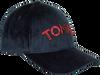 Blauwe TOMMY HILFIGER Pet PATCH CAP VELVET  - small