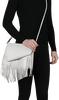 Witte KENDALL & KYLIE Clutch GINZA FRINGE - small