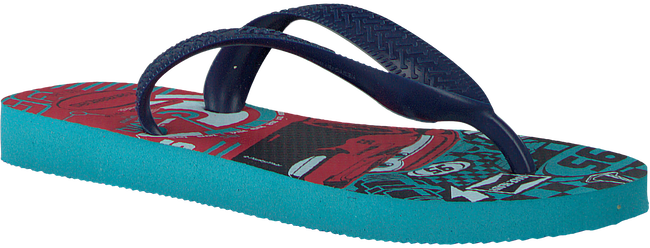 blauwe HAVAIANAS Slippers CARS  - large