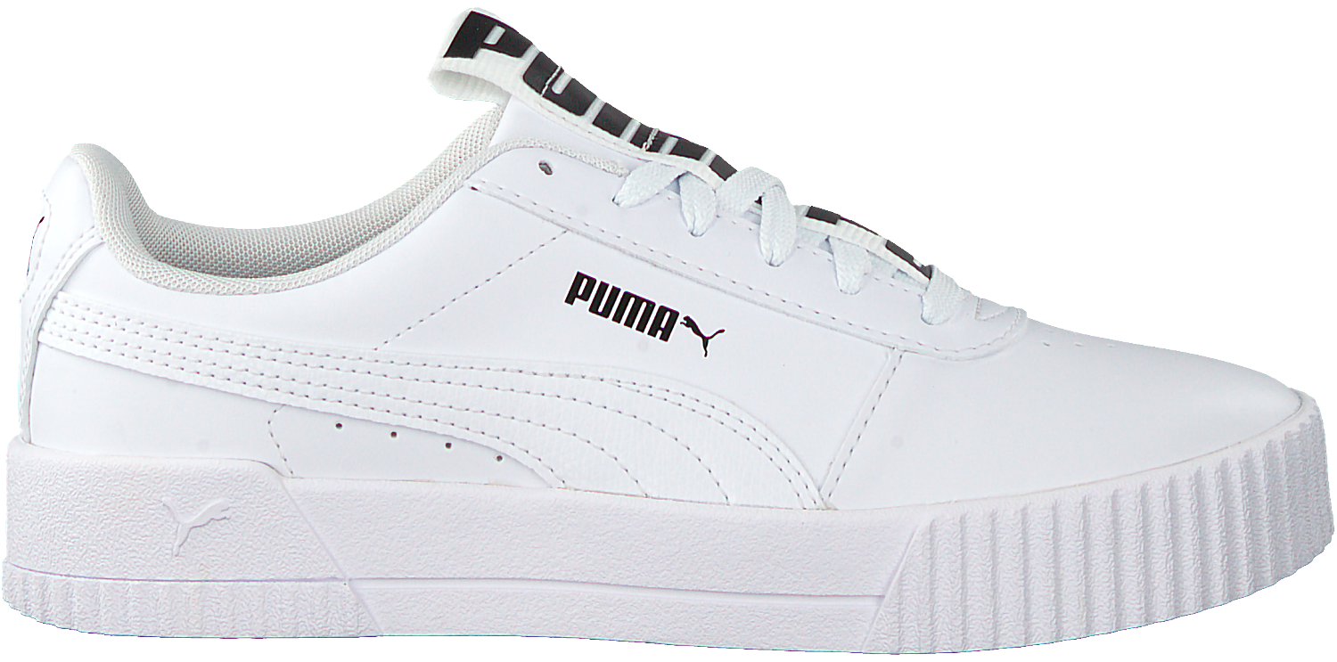 Witte PUMA Lage sneakers CARINA BOLD | Omoda