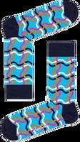 Blauwe HAPPY SOCKS Sokken SQUIGGLY SOCK  - medium