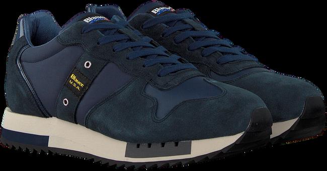 Blauwe BLAUER Lage sneakers QUEENS01  - large