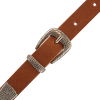 Zilveren LEGEND Riem 20223  - small