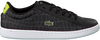 Zwarte LACOSTE Sneakers CARNABY EVO 118 1 SPC  - small