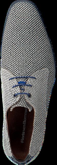 Grijze FLORIS VAN BOMMEL Nette schoenen 18120  - large