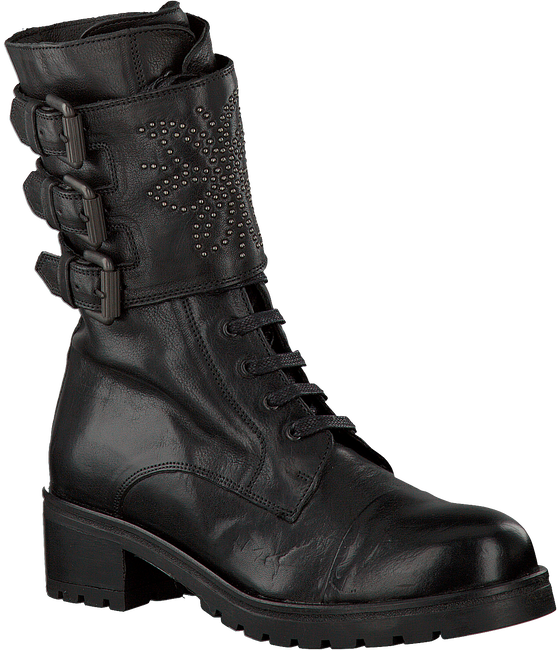 Zwarte VIA VAI Veterboots 4910104  - large