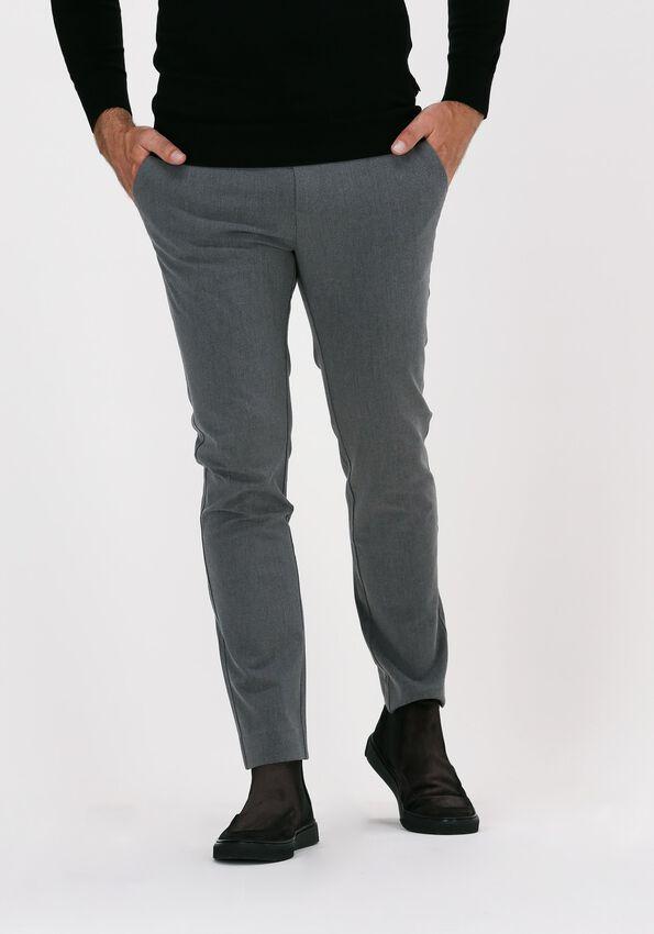 Grijze PLAIN Pantalon JOSH 315  - larger