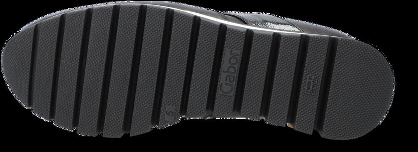 Zwarte GABOR Loafers 433  - larger