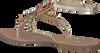 Gouden GUESS Sandalen FLLES2  - small