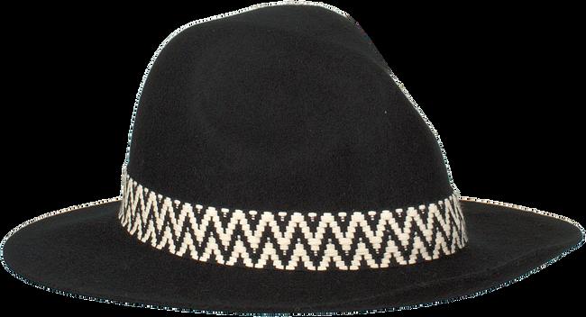 Zwarte NIKKIE Hoed MOTOR WESTERN HAT  - large