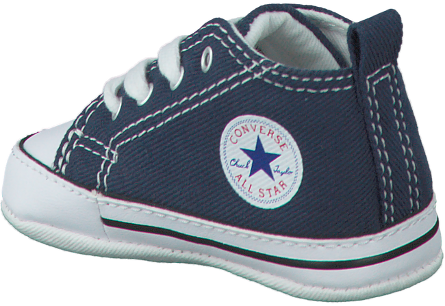Blauwe CONVERSE Babyschoenen FIRST STAR  - large