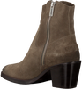 Taupe SHABBIES Enkellaarsjes 183020166 SHS0726  - small