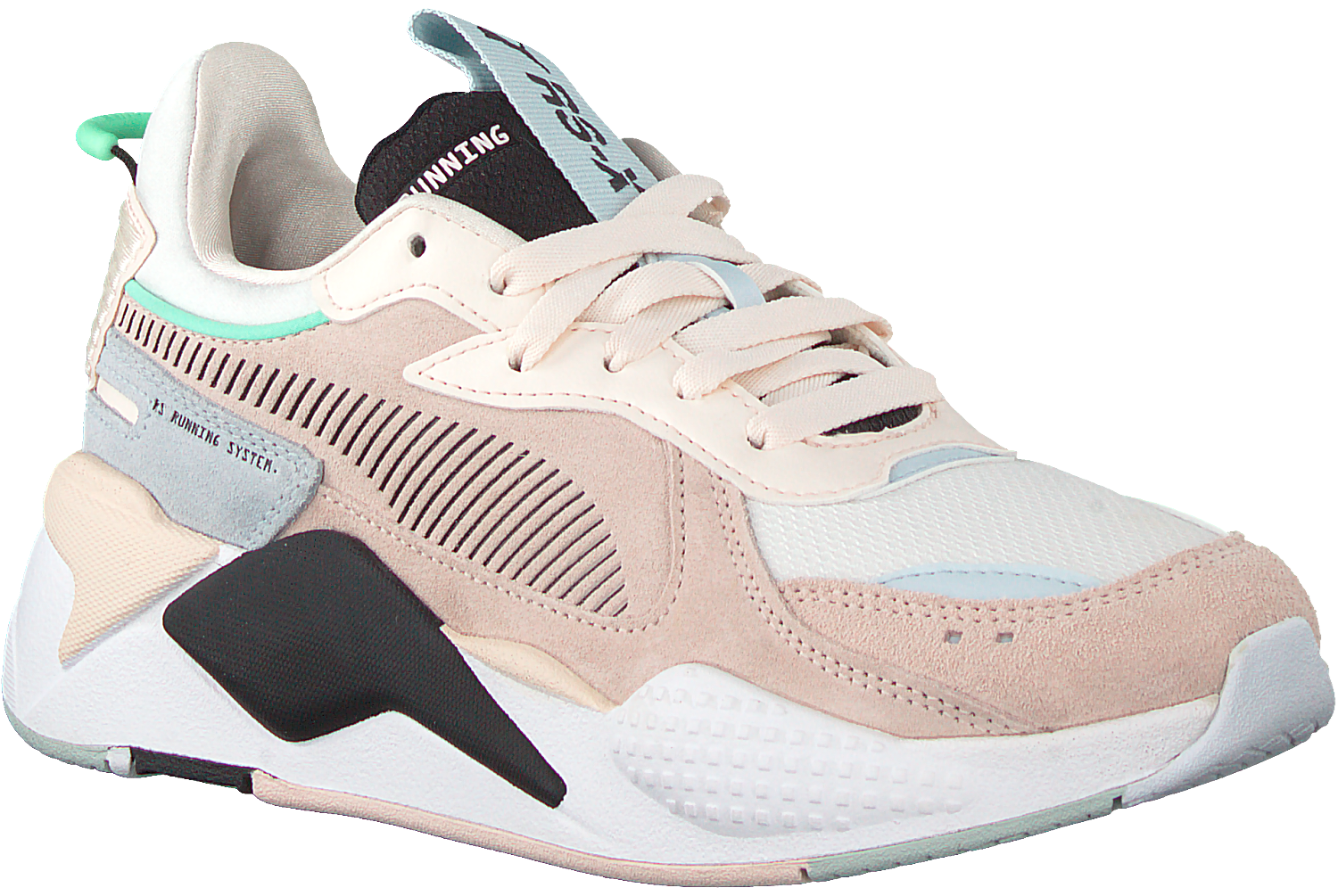 Roze PUMA Lage sneakers RS-X REINVENT WN'S | Omoda
