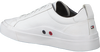 Witte TOMMY HILFIGER Sneakers FLAG DETAIL  - small