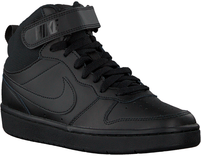 Zwarte NIKE Hoge sneaker COURT BOROUGH MID 2  - large
