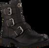 Zwarte CA'SHOTT Biker boots 22042  - small