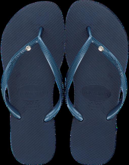 Blauwe HAVAIANAS Slippers SLIM CRYSTAL GLAMOUR  - large
