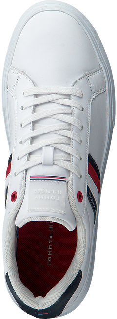 Witte TOMMY HILFIGER Lage sneakers ESSENTIAL CUPSOLE  - large