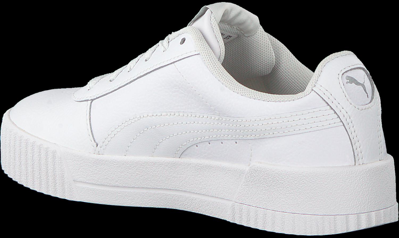 Witte PUMA Sneakers CARINA Omoda.nl