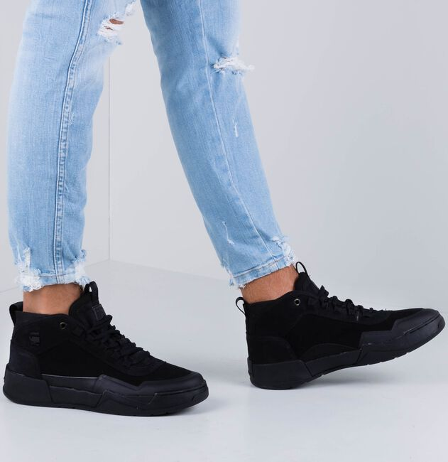 Zwarte G-STAR RAW Sneakers RACKAM GRAFT  - large