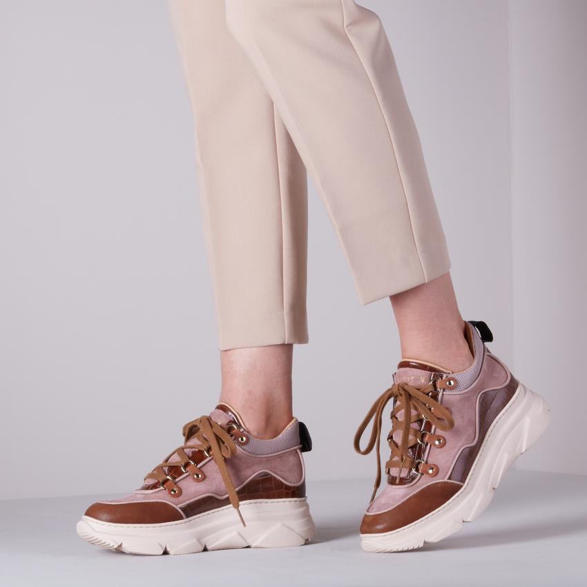 Roze NOTRE-V Lage sneakers 631  - larger