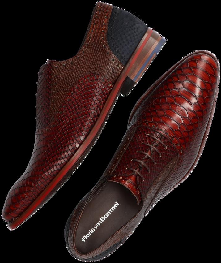 Cognac FLORIS VAN BOMMEL Nette schoenen 19104 - larger