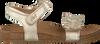 Gouden CLIC! Sandalen 8969 - small