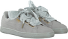 PUMA SNEAKERS SUEDE HEART SATIN - small