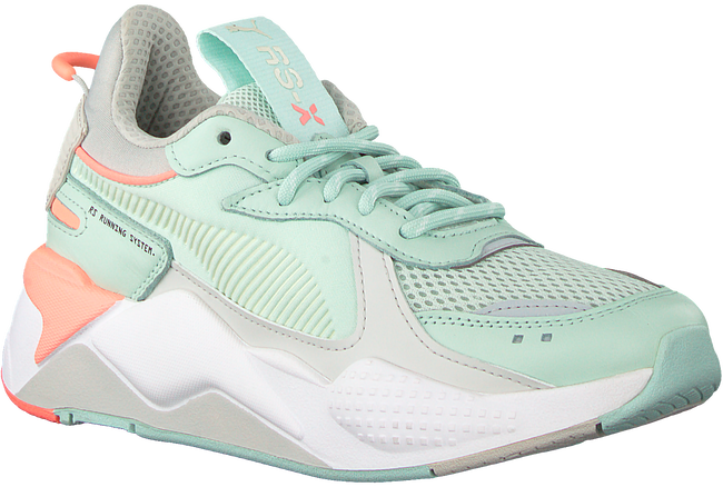 Groene PUMA Sneakers RS-X TRACKS  - large