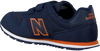 Blauwe NEW BALANCE Lage sneakers YV500  - small