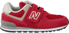 Rode NEW BALANCE Sneakers YV574/IV574 - small