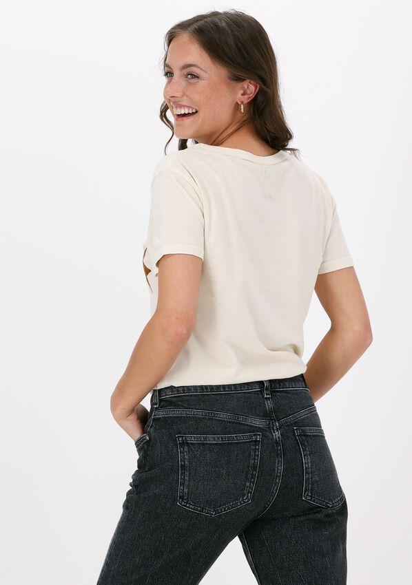 Gebroken wit LEON & HARRPER T-shirt TORO JC05 STAR  - larger