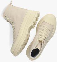 Beige NOTRE-V Hoge sneaker G01  - medium