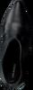 Zwarte LOLA CRUZ Enkellaarsjes 284T14BK  - small