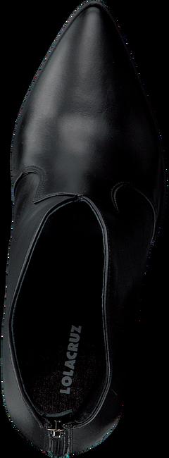 Zwarte LOLA CRUZ Enkellaarsjes 284T14BK  - large