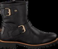 Zwarte PANAMA JACK Biker boots FELINA IGLOO TRAVELLING B3 - medium