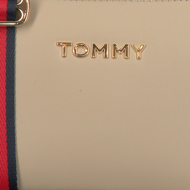 Beige TOMMY HILFIGER Schoudertas ICONIC TOMMY CROSSOVER SOLID  - large