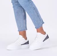 Witte DEABUSED Lage sneakers 7713  - medium