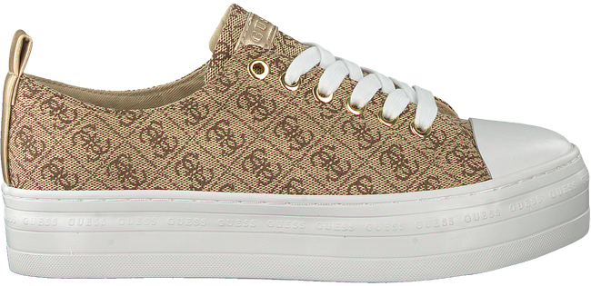 Beige GUESS Lage sneakers BRIGS  - large