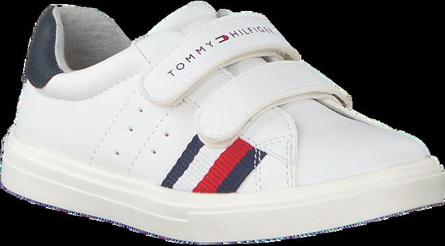 Witte TOMMY HILFIGER Sneakers LOW CUT VELCRO SNEAKER  - large