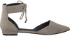 Beige KENDALL & KYLIE Ballerina's SILVE  - small