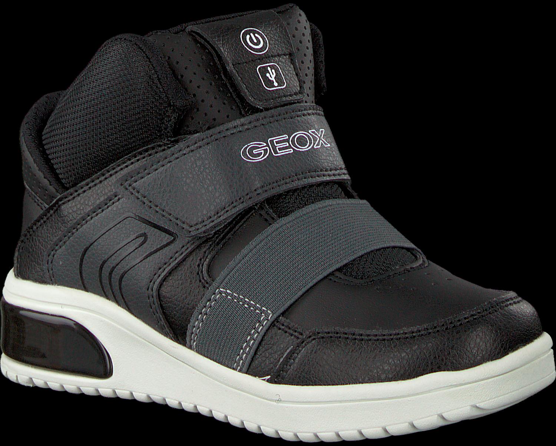 Omoda Geox nl J847 Zwarte Sneakers SzGVpUMq
