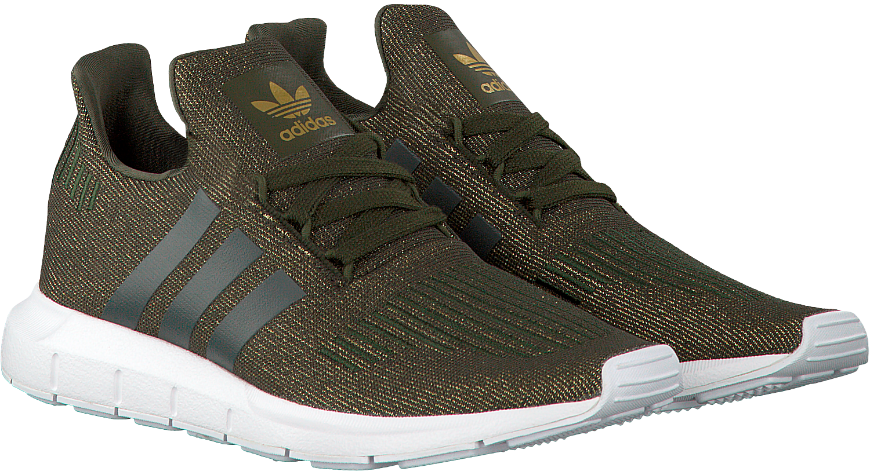 52a30ec23b8 Groene ADIDAS Sneakers SWIFT RUN DAMES - large. Next