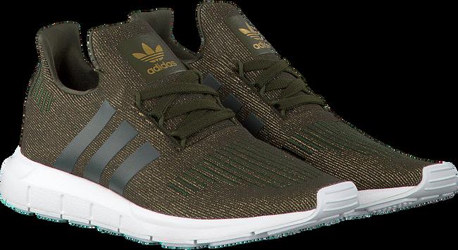 Groene ADIDAS Sneakers SWIFT RUN DAMES Omoda