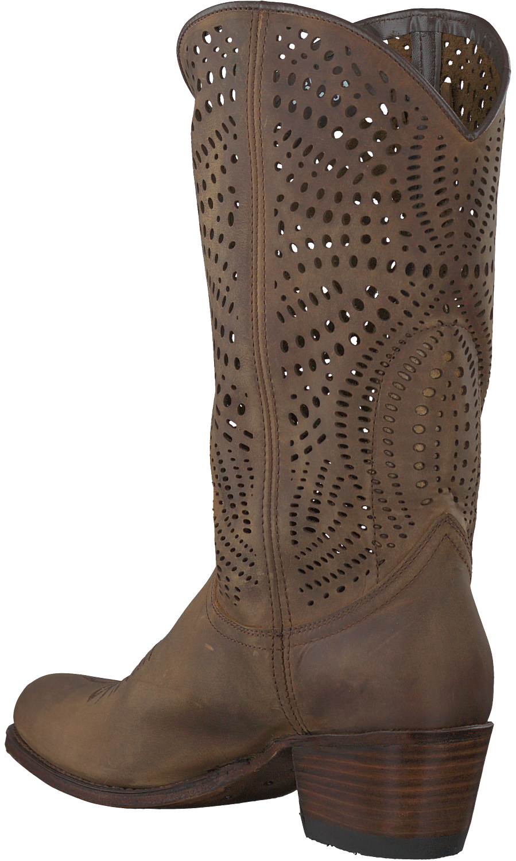 Bruine SENDRA Lange laarzen 12600   Omoda