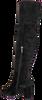 Zwarte NOTRE-V Overknee laarzen AH98  - small