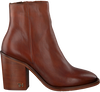 Cognac TOMMY HILFIGER Enkellaarsjes MONO COLOR HEELED  - small